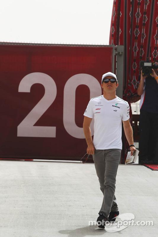 Нико Росберг. ГП Бахрейна, Субботняя тренировка.