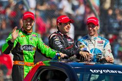 Raceinner Will Power, Verizon Team Penske Chevrolet, second place Simon Pagenaud, Schmidt/Hamilton M