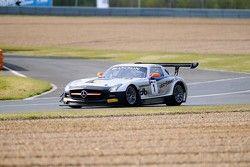 #1 Heico Gravity-Charouz Team Mercedes-Benz SLS AMG GT3: Dominik Baumann, Maximilian Buhk