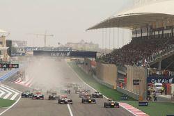 Себастьян Феттель. ГП Бахрейна, Воскресная гонка.