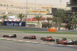 Льюис Хэмилтон. ГП Бахрейна, Воскресная гонка.