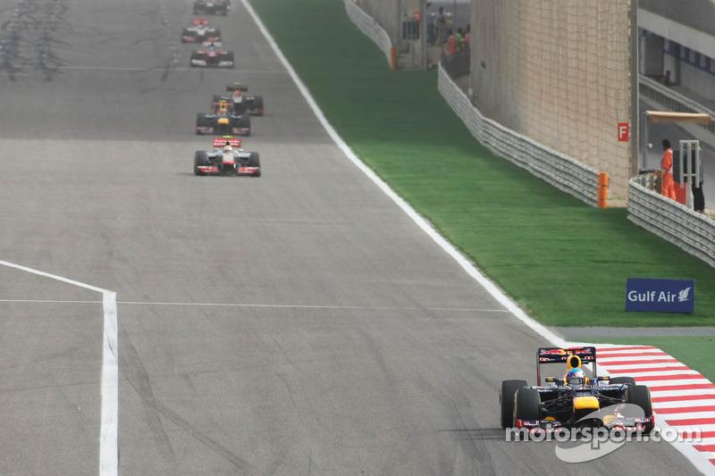 Sebastian Vettel, Red Bull Racing aan de leiding