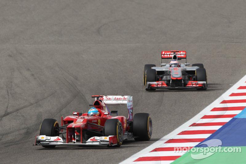 Fernando Alonso, Ferrari voor Jenson Button, McLaren
