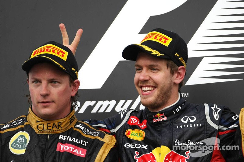 Grand Prix von Bahrain 2012 in Sakhir: Platz zwei