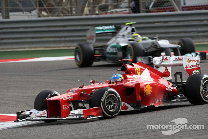 """GP do Bahrein de 2012: """"Deixe espaço"""""""