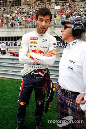 Mark Webber, Red Bull Racing and Jackie Stewart