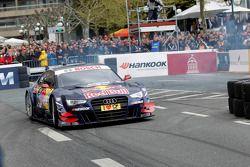 Маттиас Экстрем. Презентация сезона DTM, особое событие.