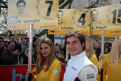 Бруно Сперглер. Презентация сезона DTM, особое событие.