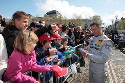 Ральф Шумахер. Презентация сезона DTM, особое событие.