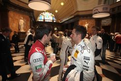 Mike Rockenfeller, Phoenix Racing Audi A5 DTM Andy Priaulx, BMW Team RBM BMW M3 DTM