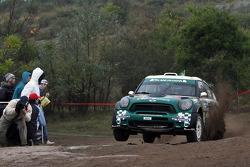 Пауло Нобре и Эду Паула. Ралли Аргентина, тестовый СУ.