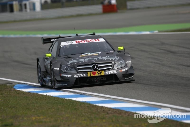 В 2012-м в DTM состоялся переход на двухдверные автомобили. Пилоты Mercedes трижды выиграли гонку, а HWA Team уступила всего восемь очков BMW Team Schnitzer по итогам сезона