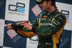 Third place Giedo Van der Garde