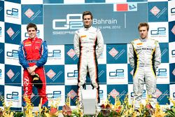 Podium: first place Tom Dillmann, second place Luiz Razia, third place Davide Valsecchi