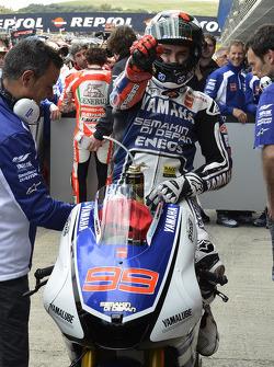 Pole winner Jorge Lorenzo, Yamaha Factory Team