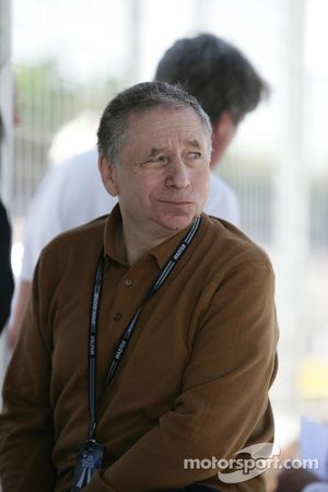 Jean Todt, President de la FIA