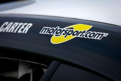 Motorsport.com Logo am #45 Fall-Line Motorsports BMW M3 Coupe