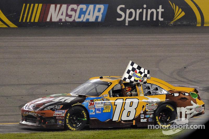 2012, Richmond 1: Kyle Busch (Gibbs-Toyota)