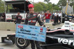 Polesitter Will Power, Verizon Team Penske Chevrolet