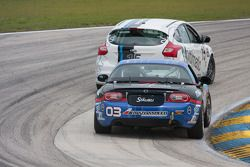#03 CJ Wilson Racing Mazda MX-5: Chad McCumbee, Jason Saini