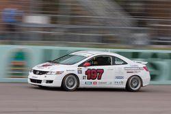 #197 RSR Motorsports Honda Civic SI: Randy Smalley, Owen Trinkler