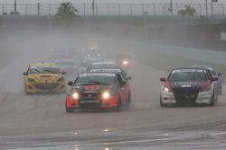 #76 Compass360 Racing Honda Civic SI: John Kuitwaard, David Thilenius