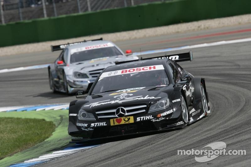Gary Paffett, Team HWA AMG Mercedes, AMG Mercedes C-Coupe, Jamie Green, Team HWA AMG Mercedes, AMG M