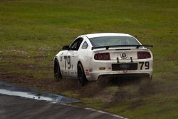 #79 Racers Edge Motorsports Mustang Boss 302R GT: Rod Randall, Todd Snyder goes off the track