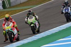 Valentino Rossi, Ducati Marlboro Team and Hector Barbera, Pramac Racing Team
