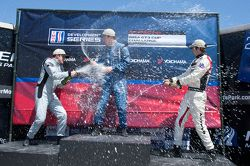 Platinum klasse podium: Madison Snow, Sean Johnston, Bryce Miller