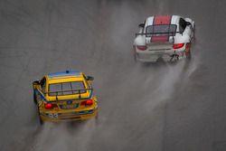 #73 Horton Autosport Porsche GT3: Eric Foss, Patrick Lindsey en #93 Turner Motorsport BMW M3: Billy