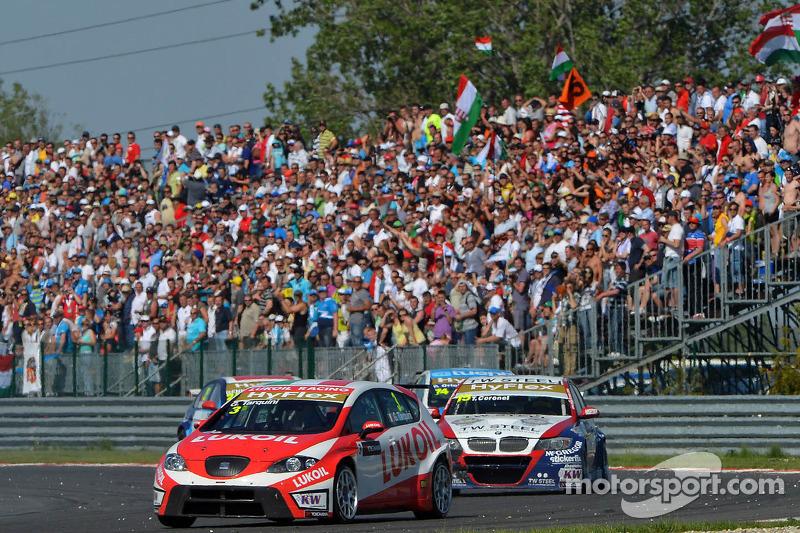 Gabriele Tarquini, SEAT Leon WTCC, Lukoil Racing Team 3rd position