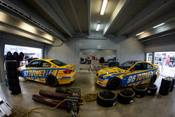 Turner BMW Continental Series cars in the garage