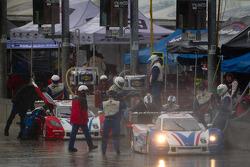 Pit stop for #9 Action Express Racing Chevrolet Corvette DP: Joao Barbosa, Terry Borcheller, JC France