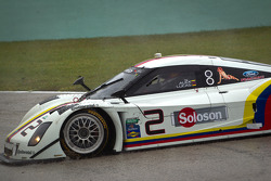 #2 Starworks Motorsport Ford Riley: Alex Popow, Lucas Luhr spins