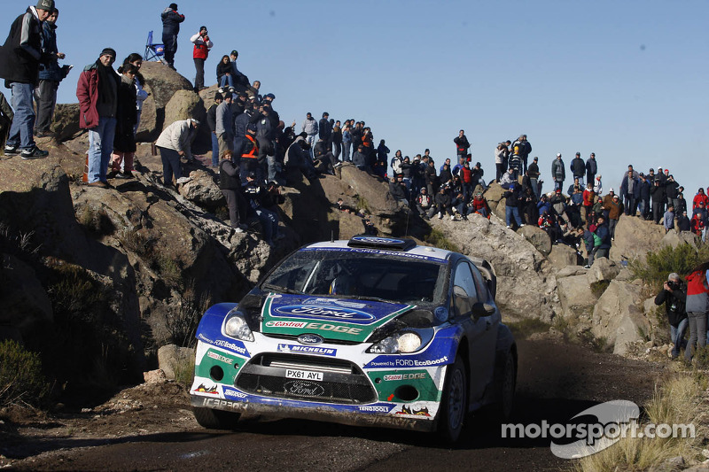 2012: Daniel Sordo y Carlos Del Barrio, Ford Fiesta RS WRC, Ford World Rally Team