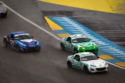 #27 Freedom Autosport Mazda MX-5: Steve Phillips, Tyler Cooke, #25 Freedom Autosport Mazda MX-5: Tom