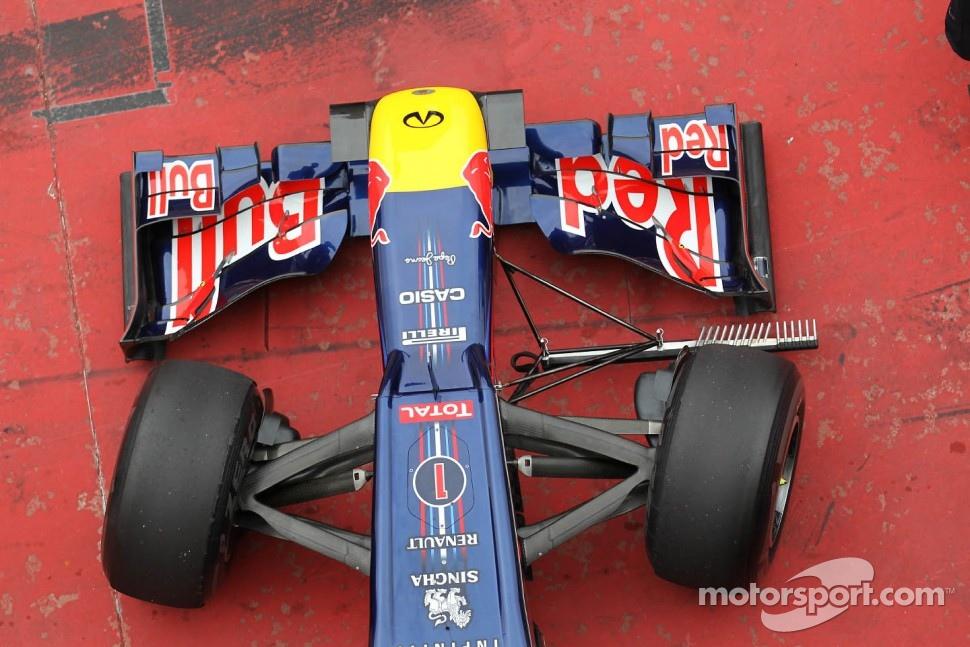 Sebastian Vettel, Red Bull Racing with front wing aero device