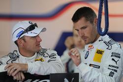 Joey Hand, BMW Team RMG, BMW M3 DTM; Martin Tomczyk, BMW Team RMG, BMW M3 DTM