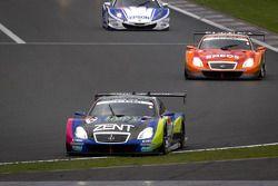#38 Lexus Team Zent Cerumo Lexus SC430: Yuji Tachikawa, Kohei Hirate goes off track