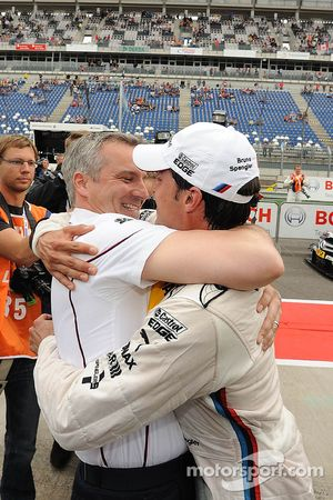Jens Marquardt, BMW Motorsport Director and Bruno Spengler, BMW Team Schnitzer BMW M3 DTM