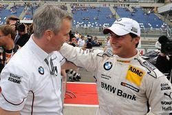 Jens Marquardt, BMW Motorsport Director en Bruno Spengler, BMW Team Schnitzer BMW M3 DTM