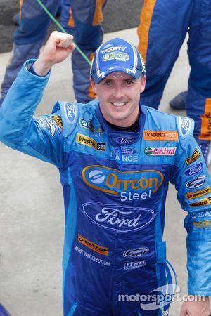 Race winner Mark Winterbottom