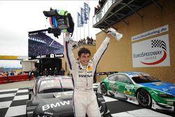 Race winnaar Bruno Spengler, BMW Team Schnitzer BMW M3 DTM