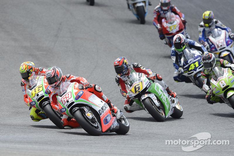 2012: Nicky Hayden y Valentino Rossi, Ducati