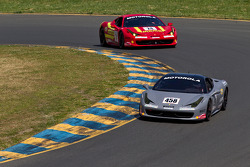 #458 Ferrari of Beverly Hills 458TP: Kevin Courtade, #24 Ferrari of Beverly Hills 458TP: Carlos Kauffmann
