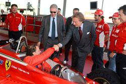 Jacques Villeneuve ve Luca di Montezemolo