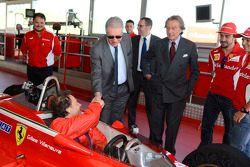 Jacques Villeneuve ve Piero Ferrari