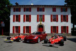 Ferrari 312 T4 met de nieuwe FF