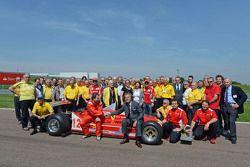Jacques Villeneuve ve Scuderia Ferrari